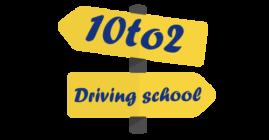 10to2driving school logo